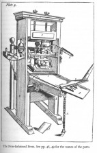 the common press of the colonial period and before.
